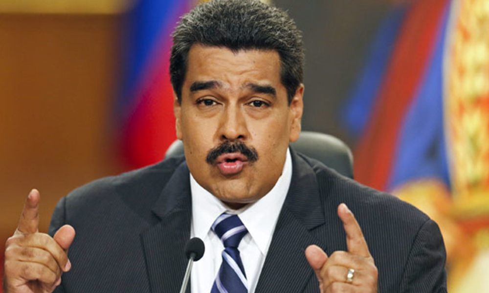 Nicolás Maduro. Foto://www.alwasatnews.com