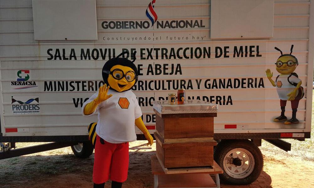 El programa de provisión de merienda escolar implementa por segundo año consecutivo la miel de abeja, en la alimentación escolar. //OviedoPress