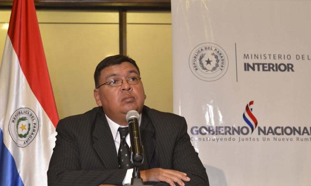 Ministro del Interior, Francisco de Vargas. //abc.com.py