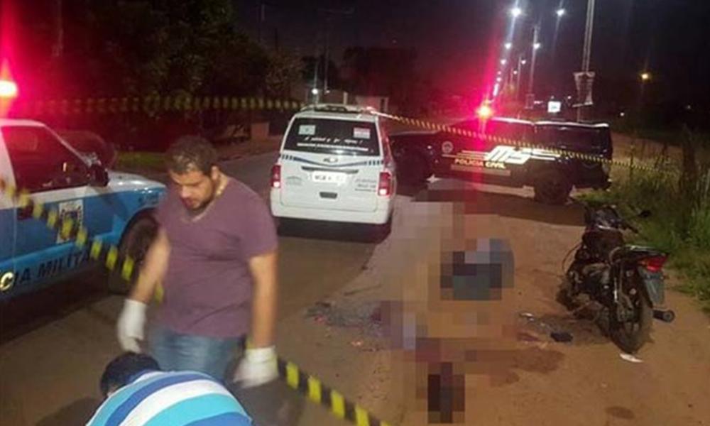 El paraguayo viajaba a bordo de su motocicleta cuando fue acribillado. Foto://sinfronterasfm.com