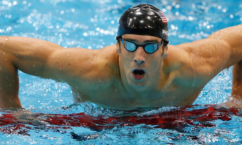 Michael Phelps ganó y llegó a las 21 medallas de oro
