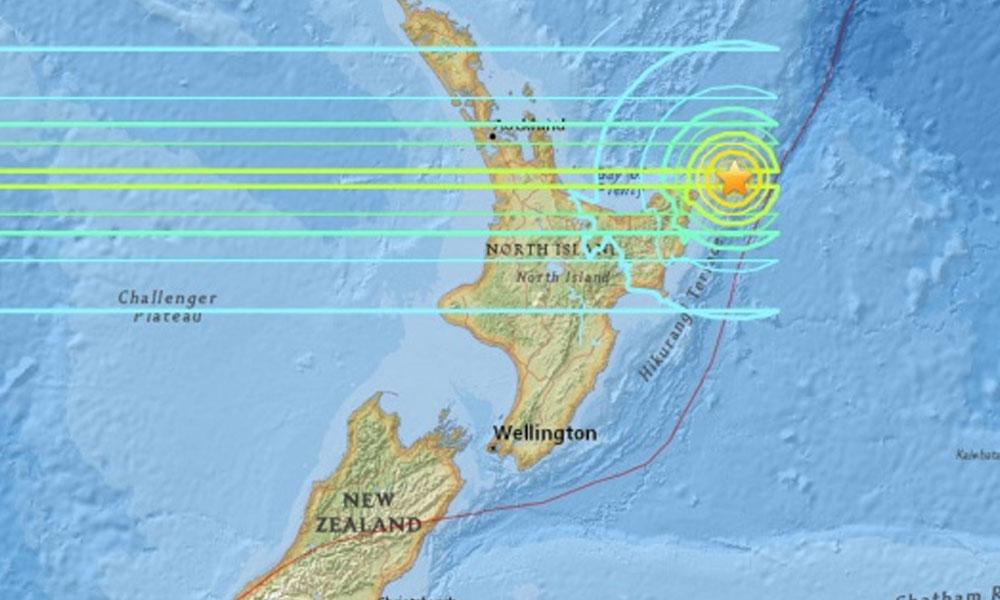 Nueva Zelanda, azotada por fuerte sismo de 7.1 grados en Richter. Imagen Ilustración. //elheraldo.co