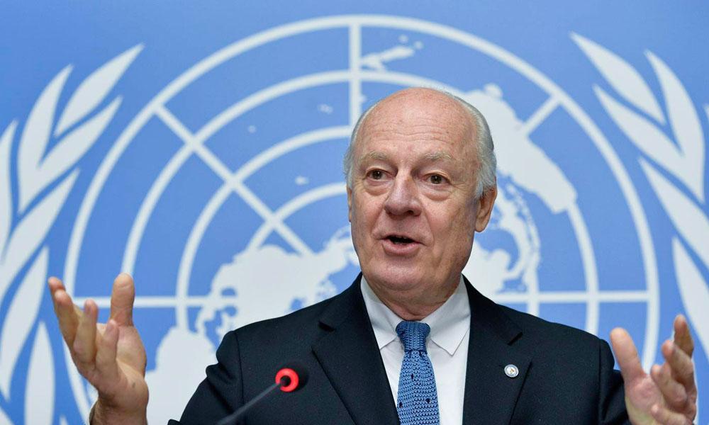 Enviado especial de la ONU para Siria, Staffan de Mistura. //un.org