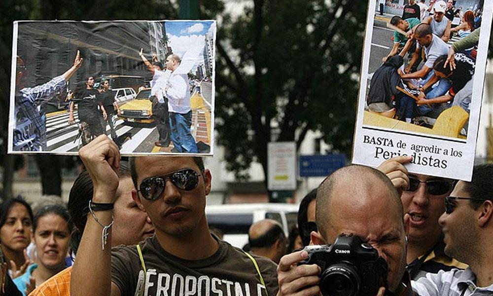 Venezuela: Denuncian ataques contra periodistas y medios de comunicación