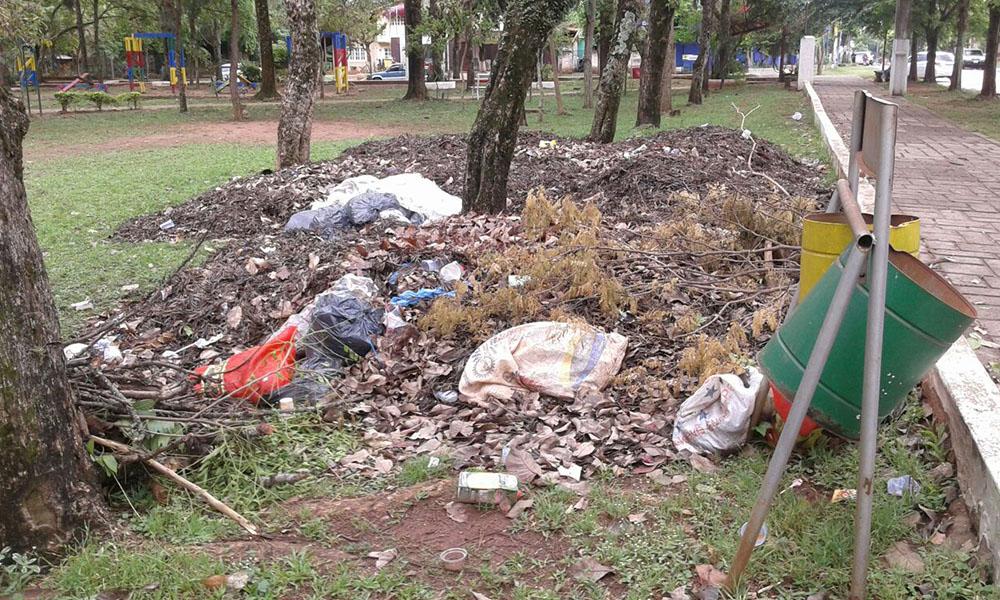 """Conforme a los reclamos ciudadanos ante nuestro medio, en el lugar se pudo evidenciar la existencia de un """"mini vertedero"""", con basuras acumuladas, botellas y bolsas plásticas en todas partes."""