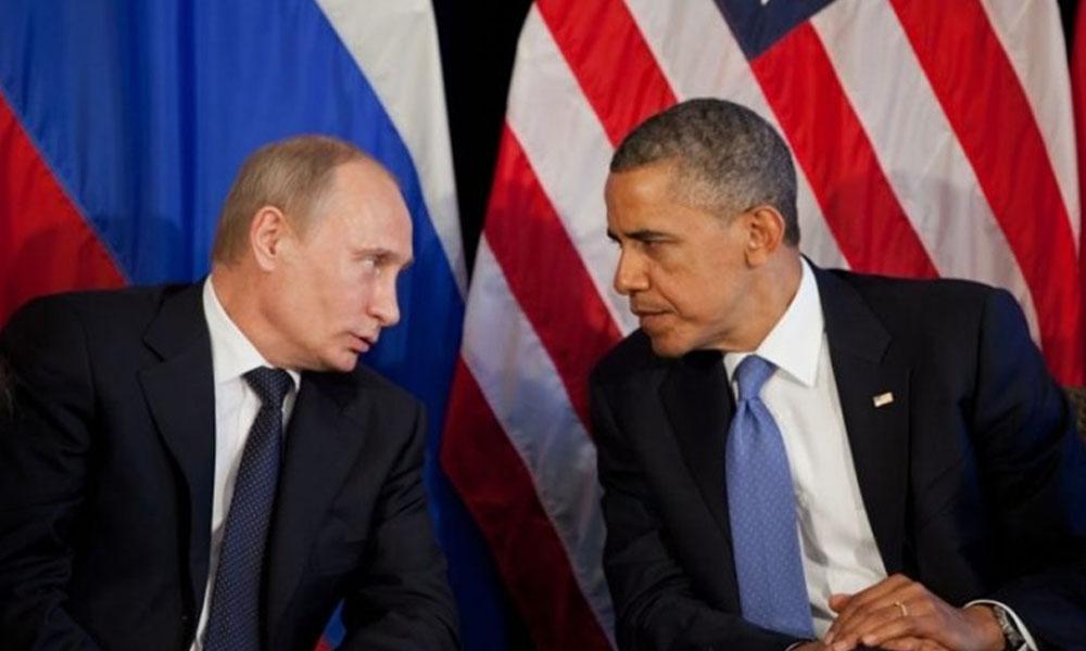 Barack Obama y Vladimir Putin juntos en el marco del G20. //elpolitico.com