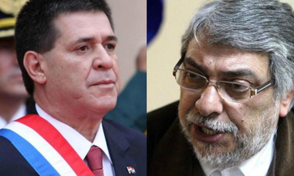 Horacio Cartes y Fernando Lugo, principales interesados en la enmienda. Fotos://Archivo - Últimahora.com - EFE