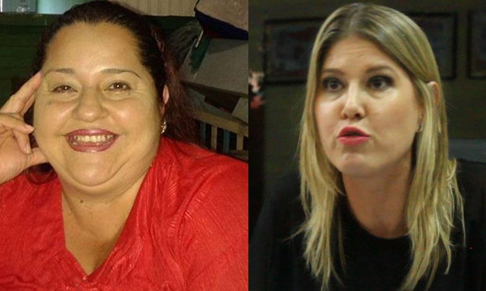 Mirian Santos, síndico renunciante, Marisol Espinola, miembro renunciante. //Facebook