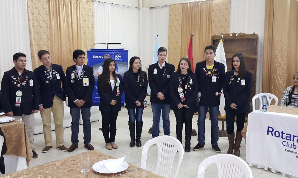 Jóvenes Intercambistas del Programa de Intercambio periodo 2016 – 2017. //Gentileza.
