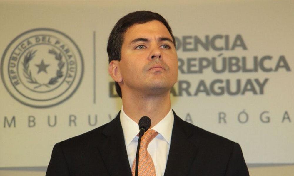 Ministro de Hacienda, Santiago Peña. //ip.gov.py