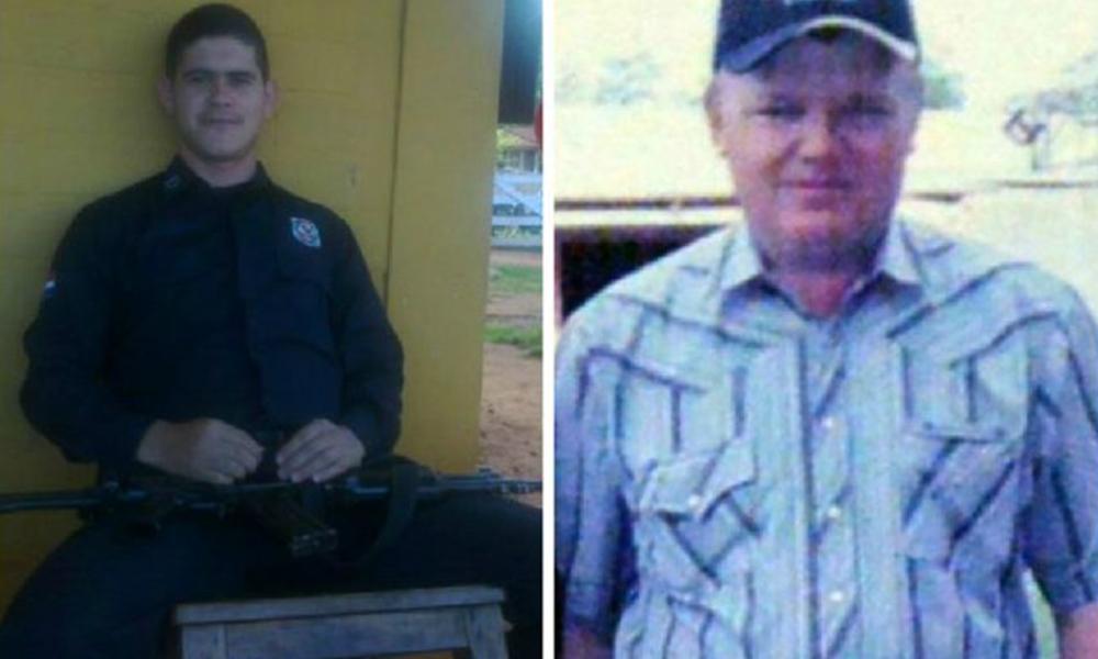 Edelio Morínigo y Abraham Fehr, dos de los cuatro secuestrados. Foto://Ultimahora.com