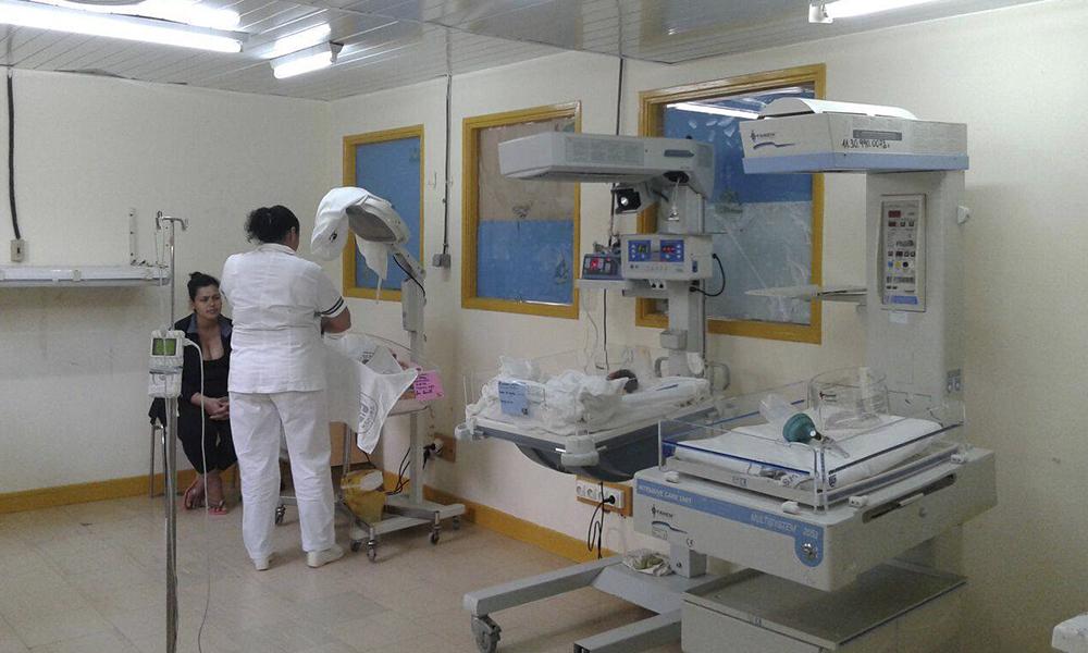 Pacientes quedan internados en incubadoras. Foto://www.mspbs.gov.py
