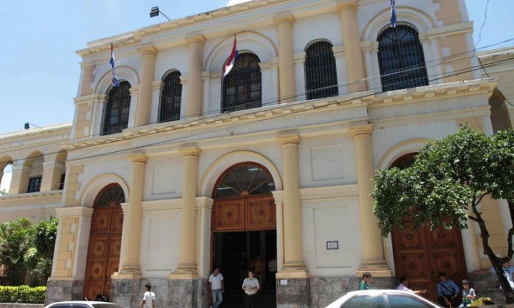 Fachada de la SET en el centro de Asunción. // 5dias.com.py