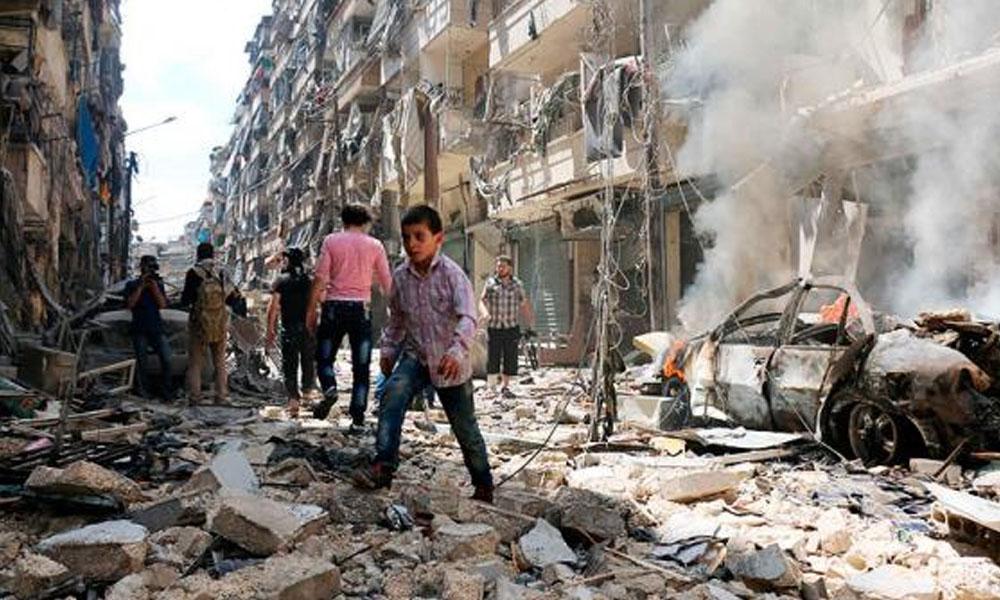 Atentado en Siria - Referencial. //elpais.com.co