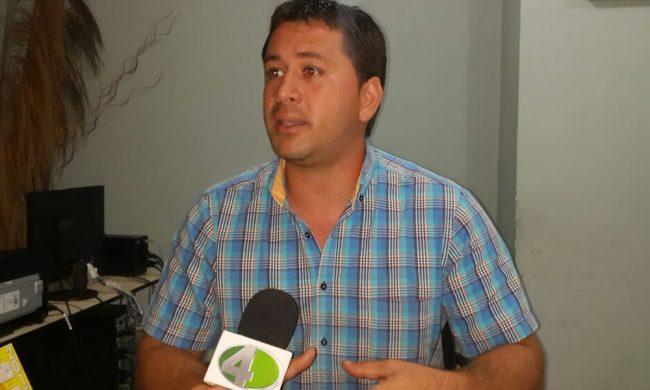 Administrador de la Terminal de Coronel Oviedo, Santiago Solaeche. //OviedoPress