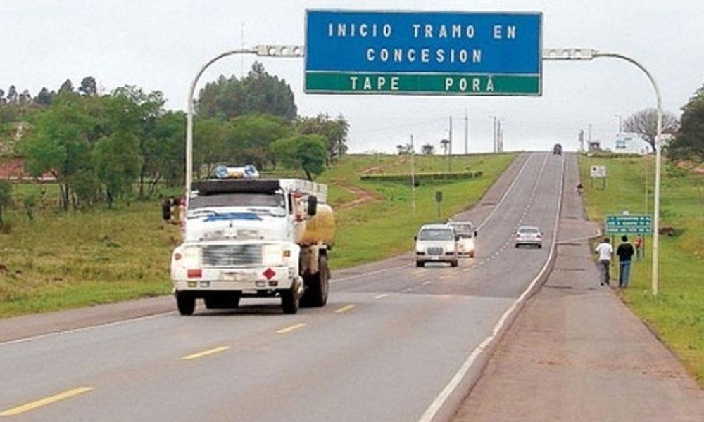 Se prevé despejar la franja de dominio de la ruta en 30 días. //paraguay.com