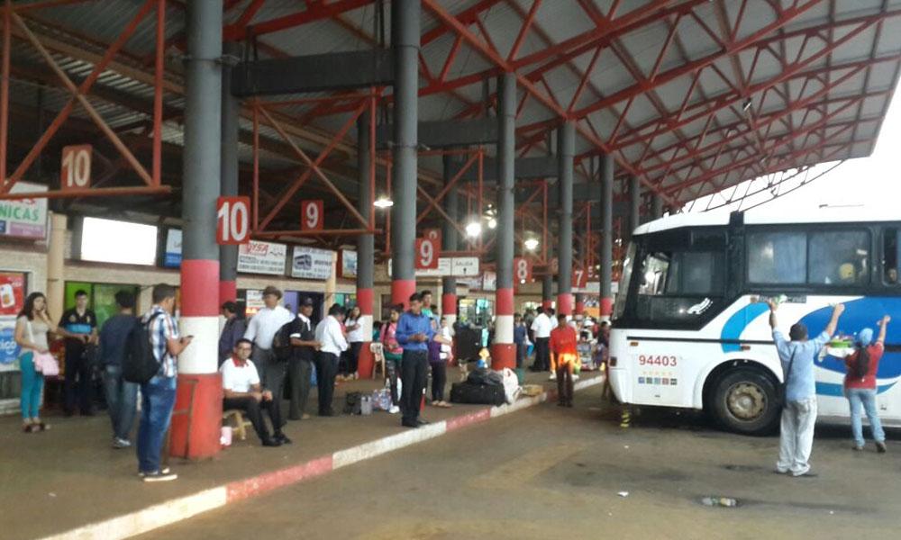 Terminal de Ómnibus de la ciudad de Coronel Oviedo. //OviedoPress