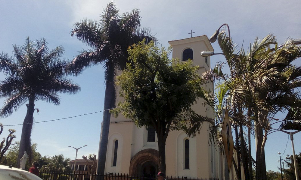 Catedral Virgen del Rosario, Coronel Oviedo. Foto://AlexisLópez - OviedoPress.