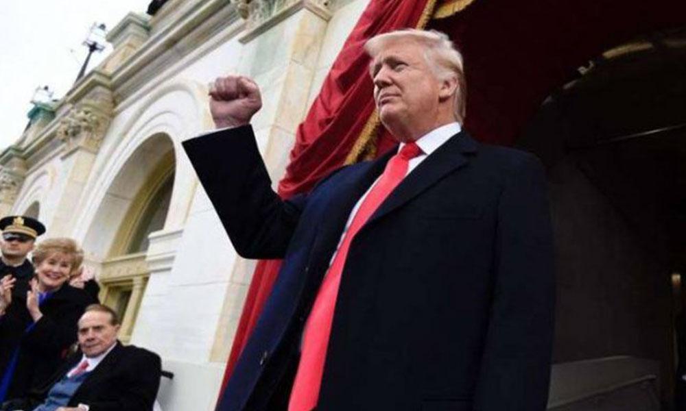 Trump asumió la presidencia. Foto://Ultimahora.com